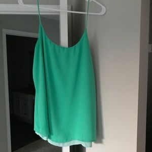 The Limited green Tank Top